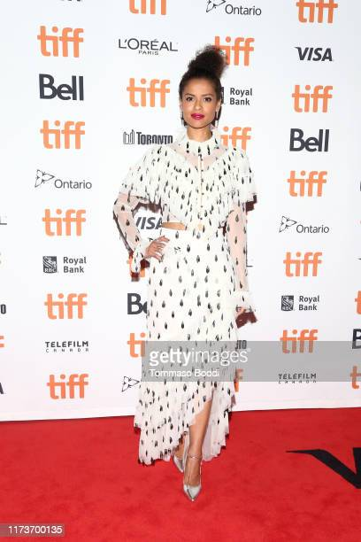 """Gugu Mbatha-Raw attends the """"Guest Of Honour"""" premiere during the 2019 Toronto International Film Festival at The Elgin on September 10, 2019 in..."""