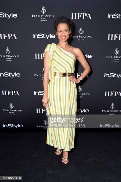 Gugu MbathaRaw attends The Hollywood Foreign Press Association and InStyle Party during 2018 Toronto International Film Festival at Four Seasons...