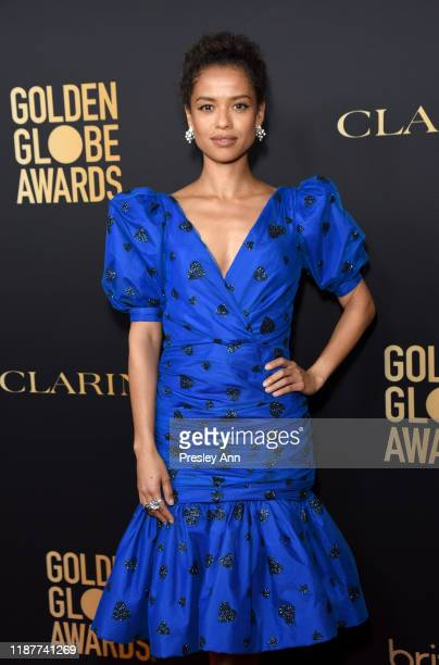 Gugu MbathaRaw attends the Hollywood Foreign Press Association and The Hollywood Reporter Celebration of the 2020 Golden Globe Awards Season and...