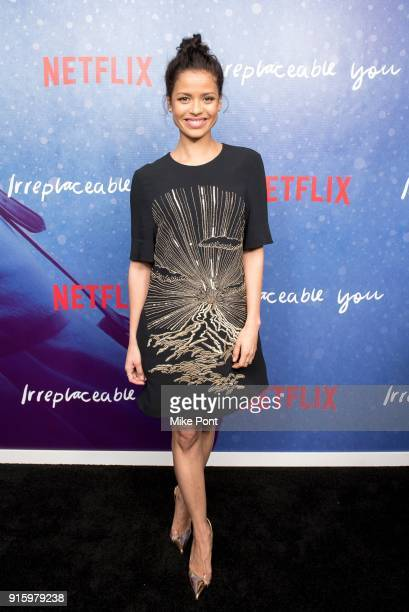 Gugu MbathaRaw attends the Irreplaceable You New York screening at Metrograph on February 8 2018 in New York City