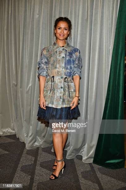 Gugu MbathaRaw attends the Motherless Brooklyn BAFTA screening reception at Vue Leicester Square on November 21 2019 in London England