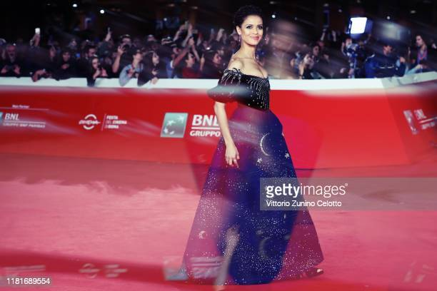 Gugu MbathaRaw attends the Motherless Brooklyn red carpet during the 14th Rome Film Festival on October 17 2019 in Rome Italy