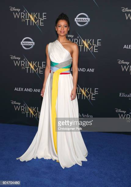 Gugu MbathaRaw attends the premiere of Disney's 'A Wrinkle In Time' at the El Capitan Theatre on February 26 2018 in Los Angeles California
