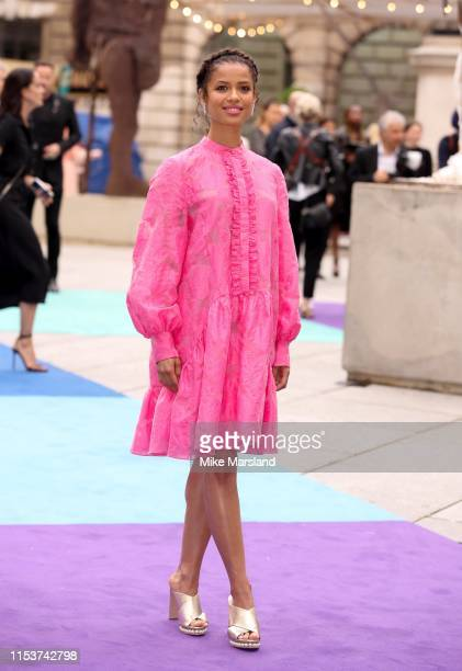 Gugu MbathaRaw attends the Royal Academy of Arts Summer exhibition preview at Royal Academy of Arts on June 04 2019 in London England