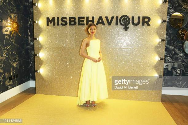 Gugu MbathaRaw attends the World Premiere of Misbehaviour at The Ham Yard Hotel on March 09 2020 in London England