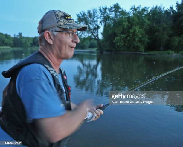 A guide who specializes in catfish out of Evert's Resort on the Mississippi Resort near Hager City Wis Brian Klawitter is absolutely smitten by the...