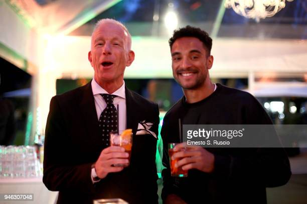 Guido Bagatta and Andrew Howe attend Racing Goes Green an event organized by Kaspersky Lab Official Sponsor of DS Virgin Racing Team to celebrate the...