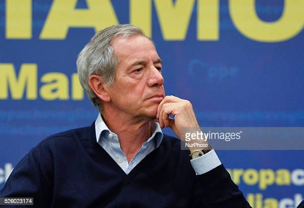 Guido Bertolaso at 'Roma l'Italia e l'Europa che vogliamo' Rome on March 04 2016