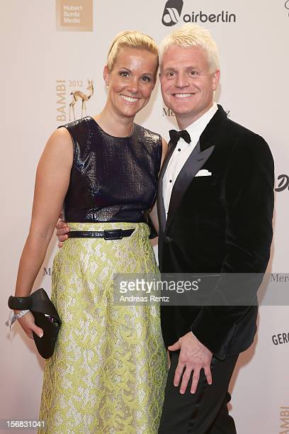 Guido Cantz and Vanessa Cantz attend 'BAMBI Awards 2012' at the Stadthalle Duesseldorf on November 22 2012 in Duesseldorf Germany