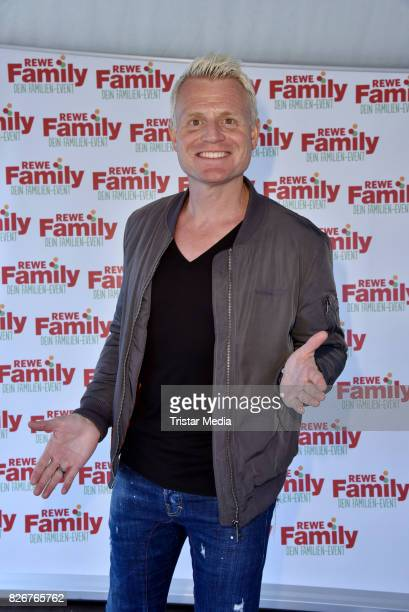Guido Cantz during the Rewe's FamilyTour finale celebration party at Zentraler Festplatz on August 5 2017 in Berlin Germany