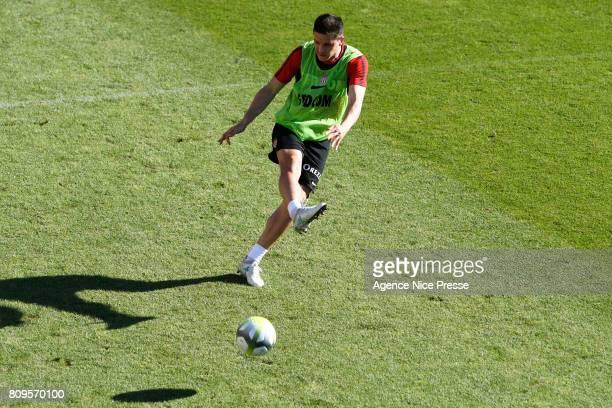 Guido Carrillo of Monaco during the training session of AS Monaco on July 5 2017 in Monaco Monaco