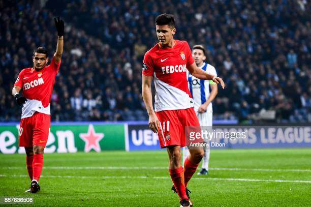 Guido Carrillo of Monaco during the Uefa Champions League match between Fc Porto and As Monaco at Estadio do Dragao on December 6 2017 in Porto...