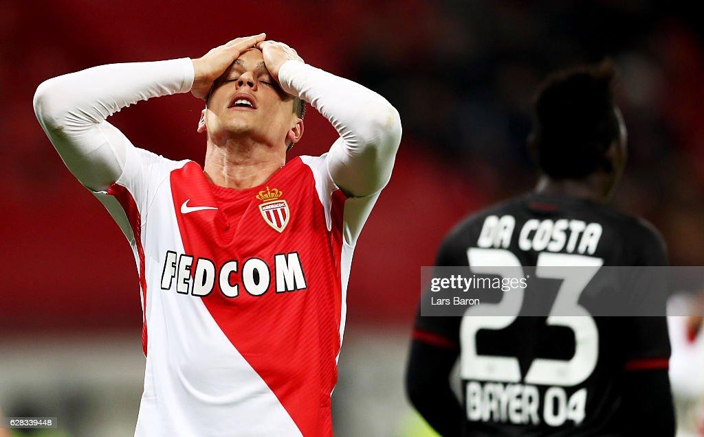 Bayer 04 Leverkusen v AS Monaco FC - UEFA Champions League : News Photo