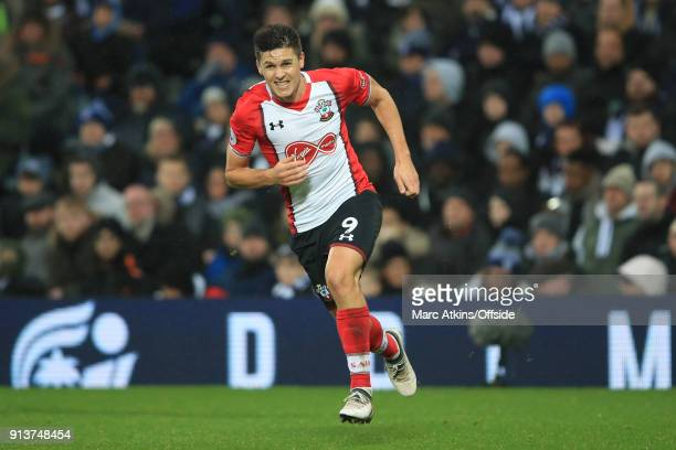 Guido Carrillo of Southampton during the Premier League match between West Bromwich Albion and Southampton at The Hawthorns on February 3 2018 in...