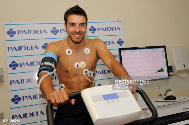 Guido Guerrieri of SS Lazio during the SS Lazio Medical Tests at the Paideia clinic on July 4 2017 in Rome Italy