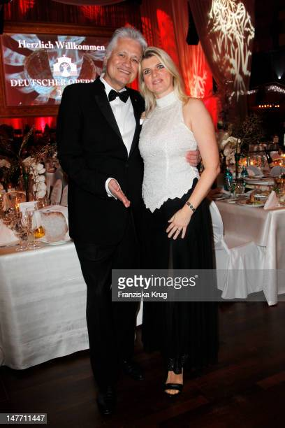 Guido Knopp and Gabriella Knopp attend the German Opera Ball 2012 at the Alte Oper on February 25, 2012 in Frankfurt, Germany.