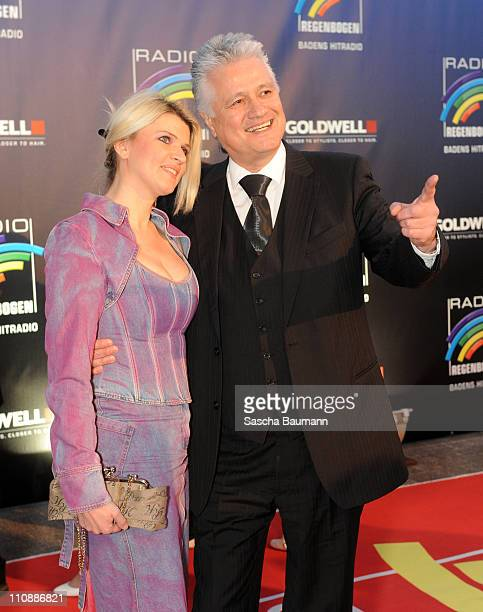 Guido Knopp and his wife Gabriella attend the Radio Regenbogen Award 2011 on March 25, 2011 in Karlsruhe, Germany.