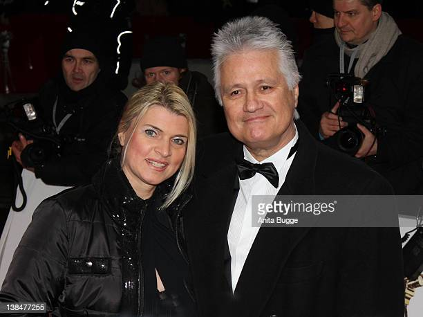 Guido Knopp and his wife Gabriella Knopp attend the 47th Golden Camera Awards at the Axel Springer Haus on February 4, 2012 in Berlin, Germany.