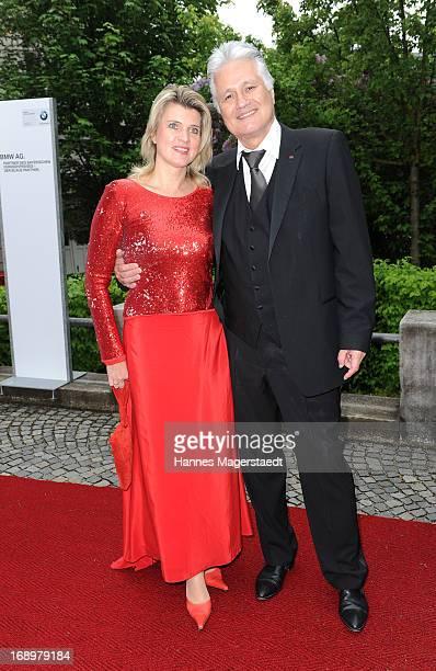 Guido Knopp and his wife Gabriella Knopp attend the 'Bayerischer Fernsehpreis 2013' at Prinzregententheater on May 17 2013 in Munich Germany