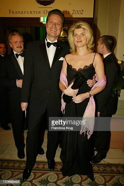 Guido Knopp Und Ehefrau Gabriella Beim Frankfurter Opernball Am 230202