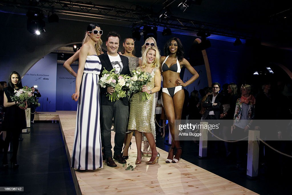 super popular 8dd77 4f149 Guido Maria Kretschmer, Annabel Mandeng and Leonie Bechtoldt ...