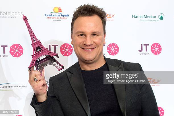 Guido Maria Kretschmer attends the JT Touristik Celebrates ITB Party at Soho House on March 5 2015 in Berlin Germany