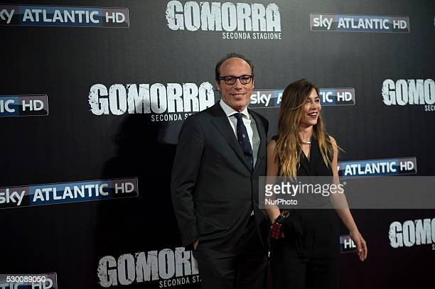 Guido Meda attends the 'Gomorra 2 - La serie' on red carpets at The Teatro dell'Opera in Rome, Italy on May 10, 2016.