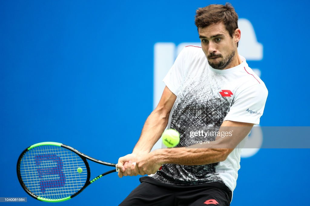 ATP World Tour Chengdu Open - 1st Round : News Photo