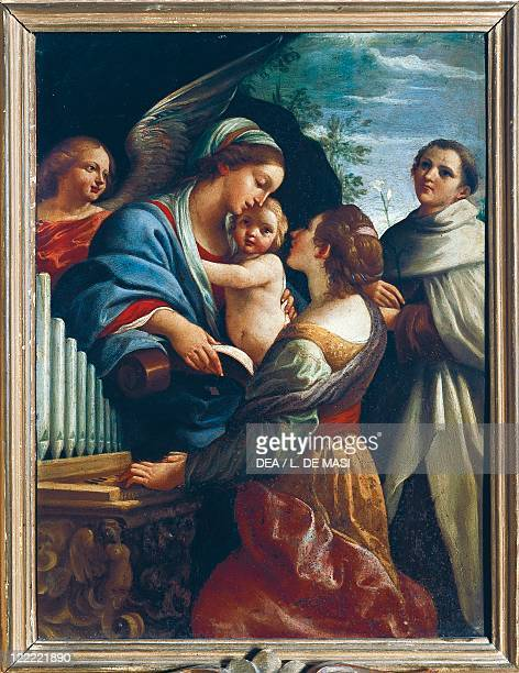 Guido Reni The Virgin and Child with Saint Cecilia and Saint Anthony 159798