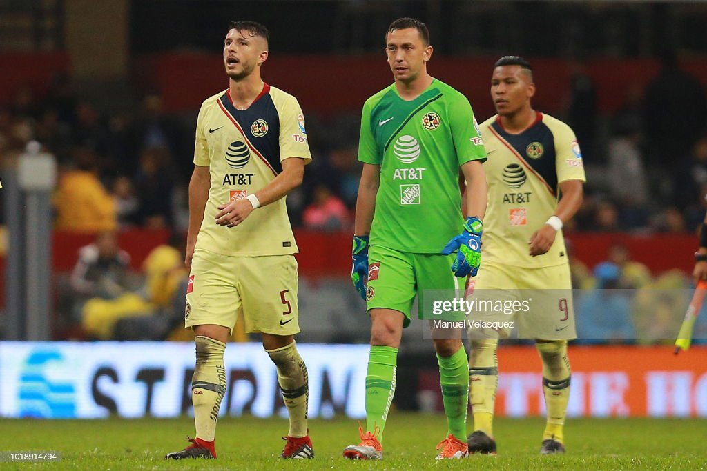 new style 8df55 fcb86 Guido Rodriguez and Agustin Marchesin of America gesture ...