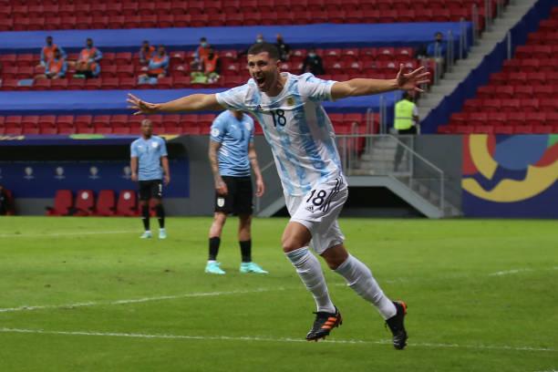 BRA: Argentina v Uruguay: Group A - Copa America Brazil 2021