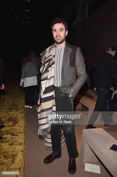 Guido Taroni attends the Fendi show during Milan Men's Fashion Week Fall/Winter 2016/17 on January 18 2016 in Milan Italy