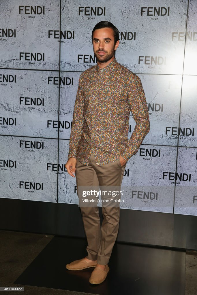 Guido Taroni attends the Fendi show during Milan Menswear Fashion Week Spring Summer 2015 on June 23, 2014 in Milan, Italy.