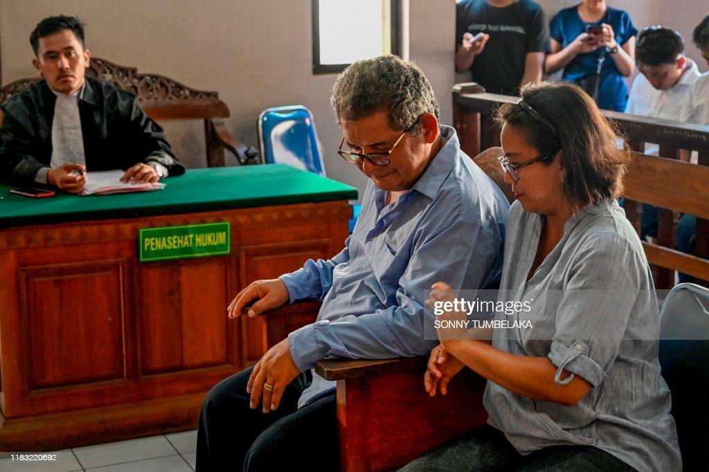 INDONESIA-PERU-CRIME-DRUGS-TRIAL : Nachrichtenfoto