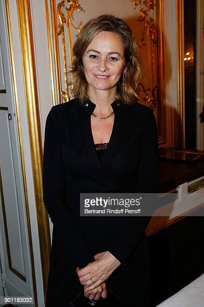 Guilaine Chenu at Laurence Haim Is Honoured With The Insignes De Chevalier De La Legion D'Honneur at Salons FranceAmeriques on December 12 2015 in...