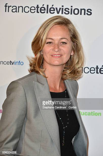 Guilaine Chenu attends 'France Televisions' Photocall at Palais De Tokyo on August 26 2014 in Paris France