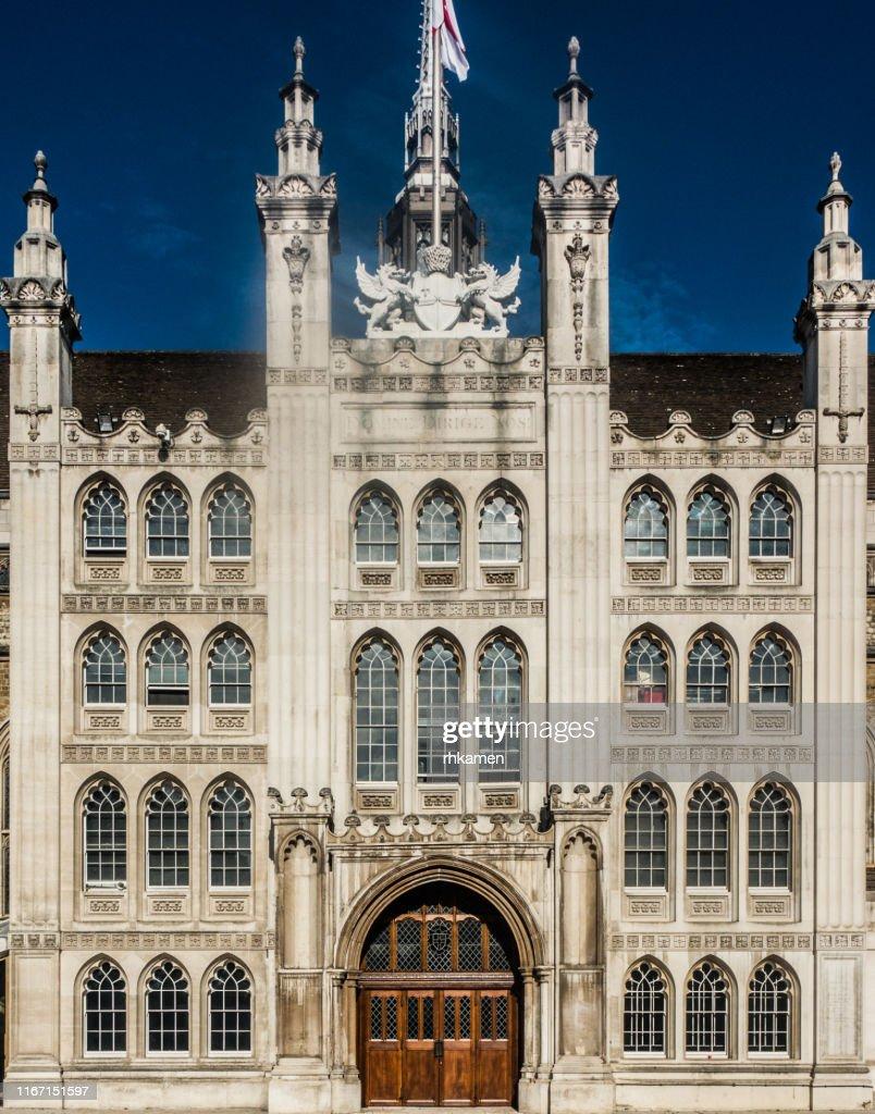Guildhall, City of London, London, England, UK : ストックフォト