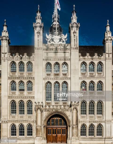guildhall, city of london, london, england, uk - ギルドホール ストックフォトと画像