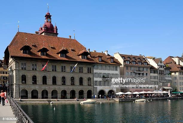 Guildhall, Luzern (Lucerne), Switzerland, Europe
