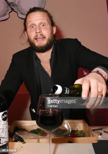 Guilhem de Castelbajac attends Nektart Wine Party at Palais de Tokyo Art Club on November 29 2017 in Paris France