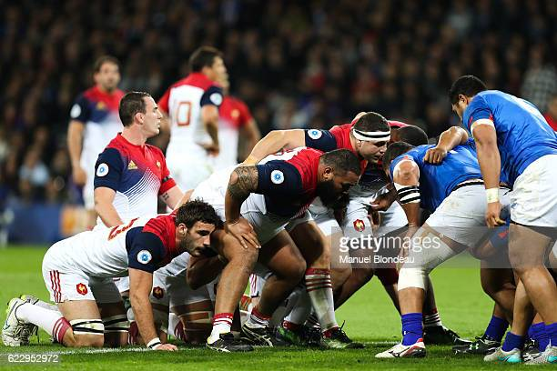 Guilhem Guirado of France during the rugby test match between France and Samoa on November 12 2016 in Toulouse France