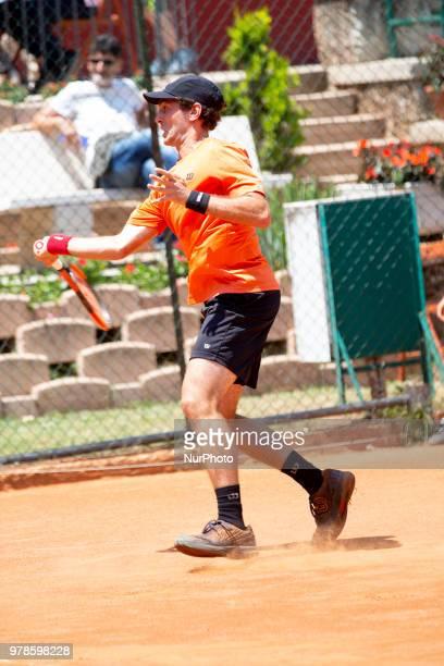 Guilherme Clezar during match between Riccardo Bonadio and Guilherme Clezar during day 4 at the Internazionali di Tennis Citt dell'Aquila in...