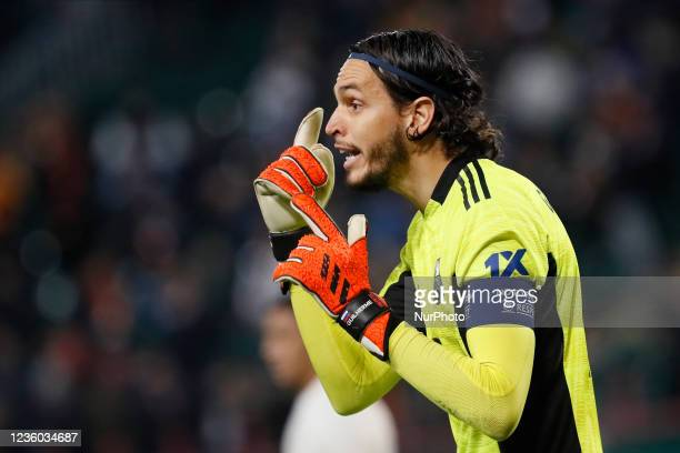 Guilherme of Lokomotiv Moscow gestures during the UEFA Europa League Group E football match between FC Lokomotiv Moscow and Galatasaray SK on October...