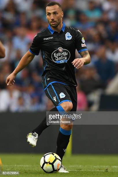 Guilherme of RC Deportivo La Coruna during the PreSeason Friendly match between FC Porto and RC Deportivo La Coruna at Estadio do Dragao on July 30...