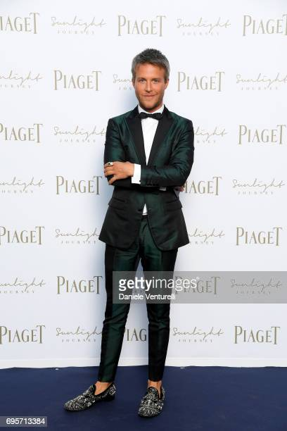 Guilherme Siqueira attends Piaget Sunlight Journey Collection Launch on June 13 2017 in Rome Italy