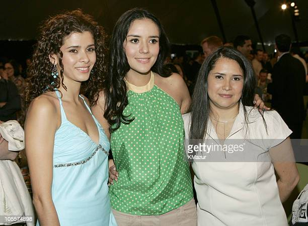 Guilied Lopez Catalina Sandino Moreno winner Best Female Lead for Maria Full of Grace and Yenny Paola Vega nominee Best Supporting Female for Maria...
