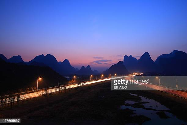 Guilin airport highway