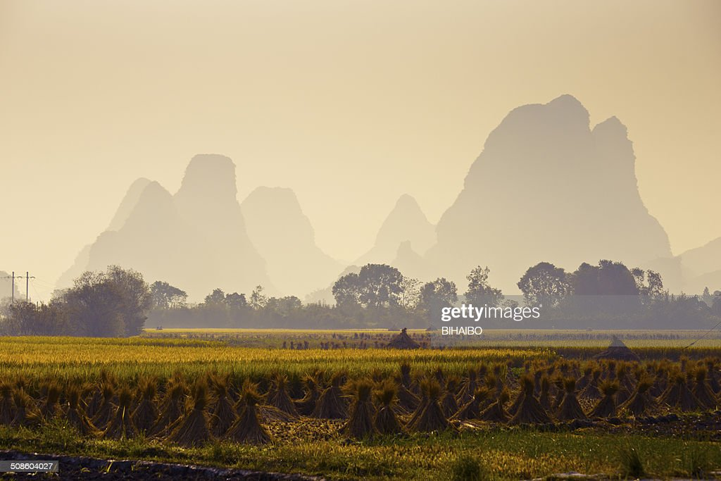 En otoño de Guilin : Foto de stock
