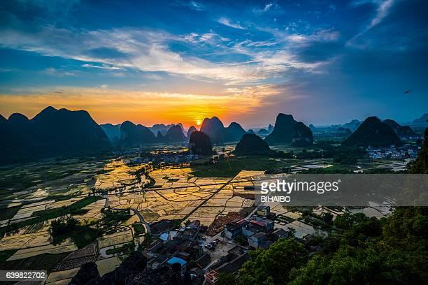 Guilin landscape,China