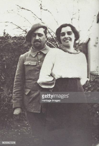 Guillaume Apollinaire and Madeleine Pagès in Oran Private Collection
